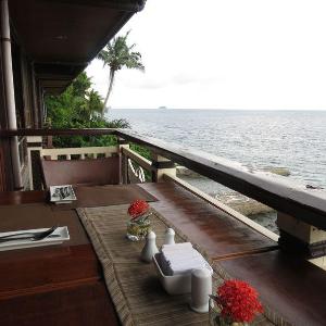 eagle pont resort ocean view deck