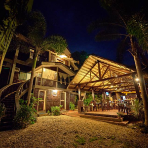 mayumi resort at night