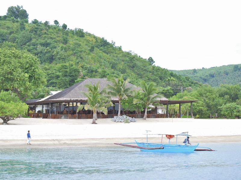 a view of batangas beach resorts