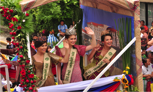 miss philippines earth in sublian parade